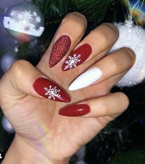 natale, nail and unghie