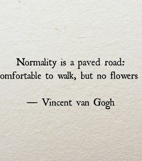 normality, quote and quotes