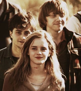 hermione granger, harry potter and ron