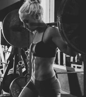 power, girl and crossfit