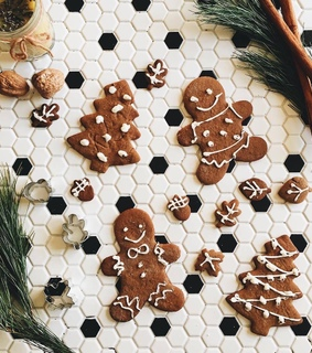 gingerbread, rosemary and holidays