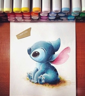 talent, stitch and baby
