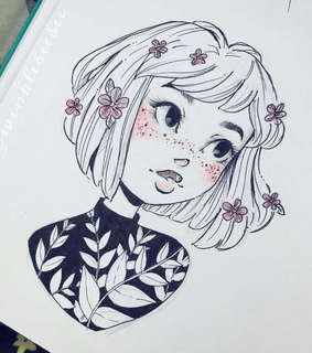 art, happy and draw