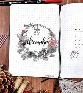 xmas, planner and holiday