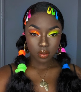 africanbeauty, makeup aesthetics and african