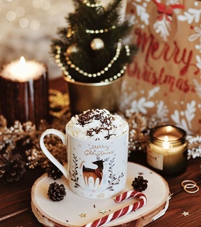 hotchocolate, cozy and inspiration