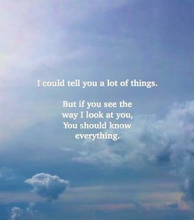 yours, sky and eyes