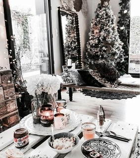 decorate, christmas time and white