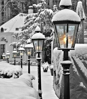 winter, paradise and inspiration