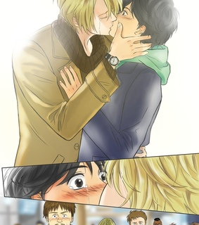 banana fish anime, eiji okumura and bananafish