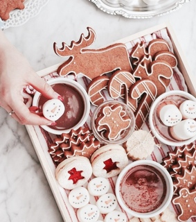 cookies, baking and festive