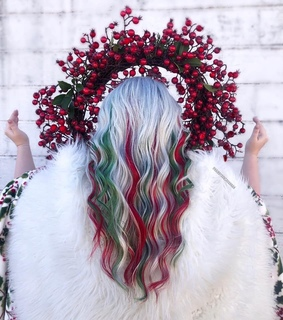 hair, inspiration and saint noel hair