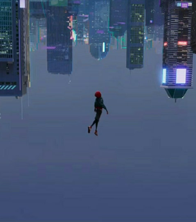 comic, city and spider man