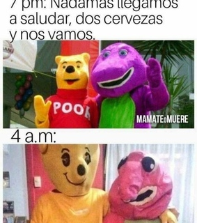 humor, barney and reir