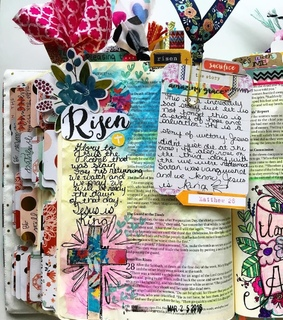 bible journaling, bible and bible study
