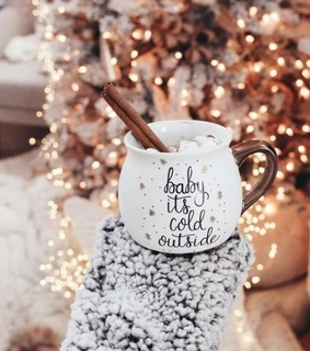 beauty, hot cocoa and rose gold