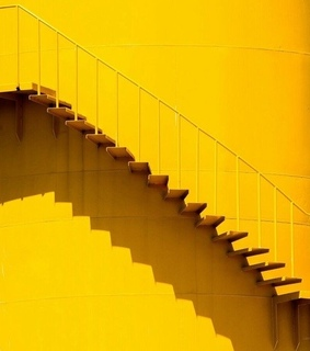stairs, conceptual and bright