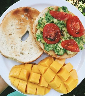toast, bagels and breakfast