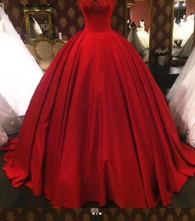 lace prom dress, red prom dress and prom dress ball gown