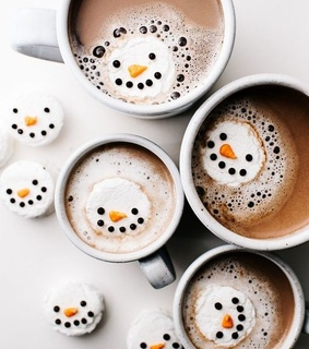 hot cocoa, sweet and hot chocolate