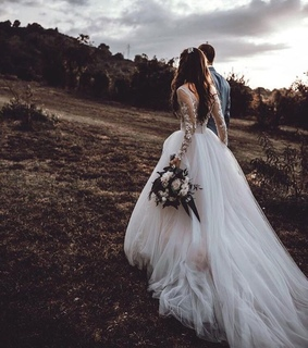 wedding dress, love and fashion