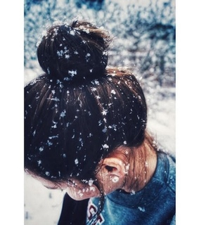 girls, winter snow and ucubciuu