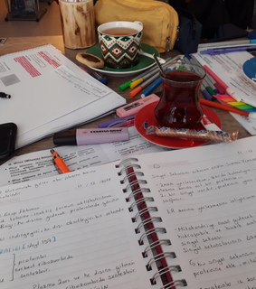 harry potter, motivation and study table