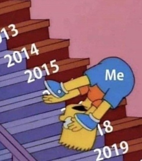bart simpson, the simpsons and happy new year