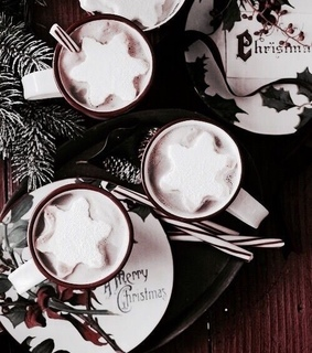 cocoa, holidays and drink