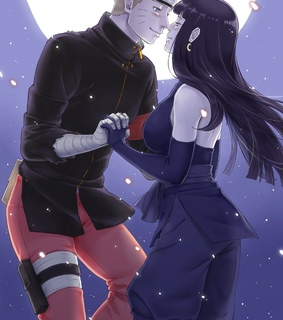 anime girl, naruhina and manga