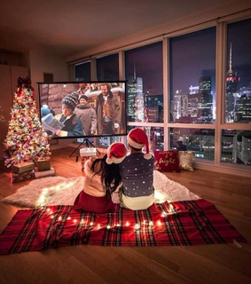 christmas eve, love and santa