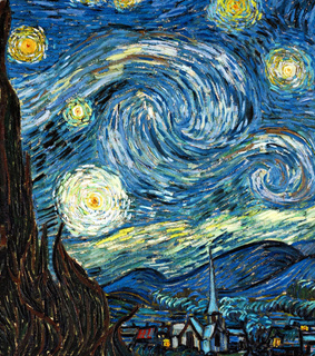 luvyanka, starry night and vincent