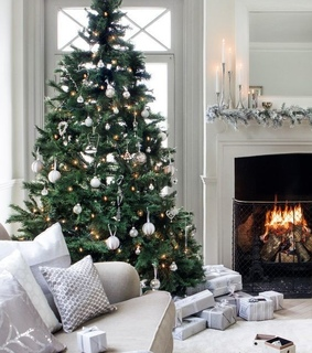 house, presents and home