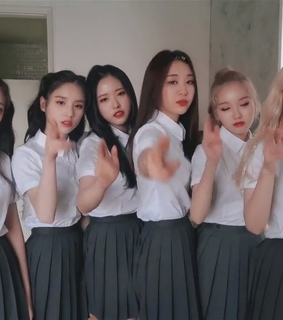 oliviahye, kpop and kimlip