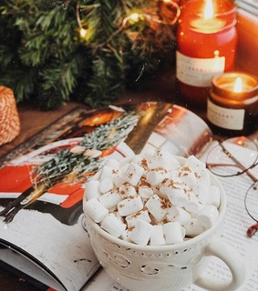 winter, hotchocolate and cozy