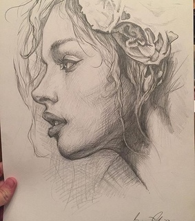 artists, pencil drawing and beautiful