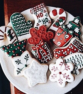 delicious, cookies and christmas time