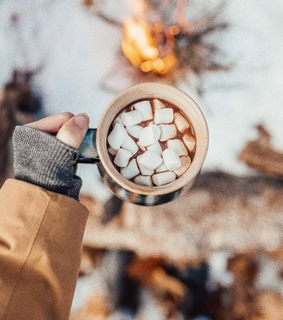tumblr, hot cocoa and winter