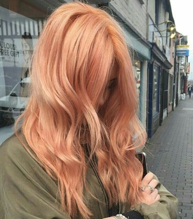 hairstyle, orange and beauty