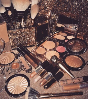 beauty products, makeup and beauty
