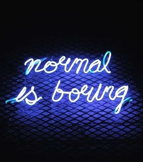 lights, normal and boring