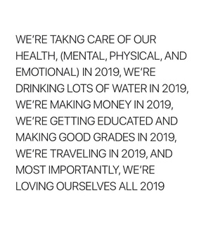 quote, new years resolutions and resolution