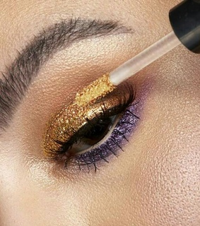 gold, nyx cosmetics and golden makeup