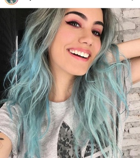 pastel blue, blue hair and hair color