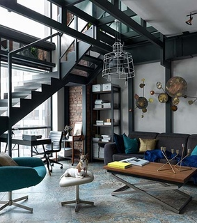 interior design, modern apartment and photography