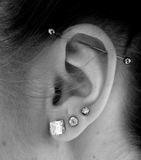jewelry, ear and lobe