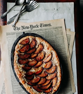 food, newspaper and style
