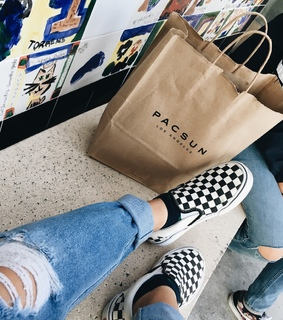 vans, shopping and pacsun