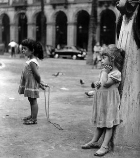 rope, girl and playing