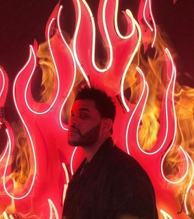 abel, xo and red and black wallpaper